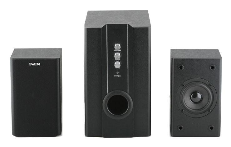 Колонки Sven SPS-820 2.1 черный 38Вт