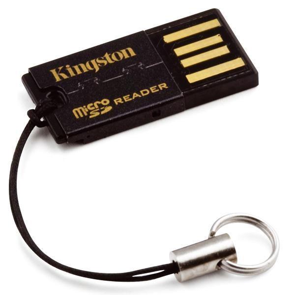Устройство чтения карт памяти USB2.0 Kingston FCR-MRG2 черный