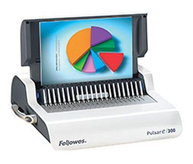 Переплетчик Fellowes Pulsar E (FS-56207) A4/перф.20л.сшив/макс.300л./пластик.пруж. (6-38мм)/электр.