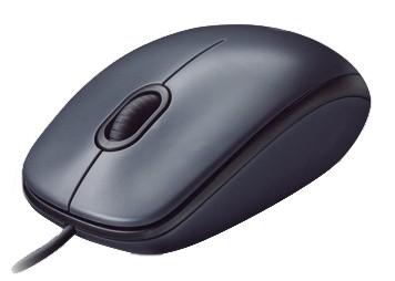 Мышь Logitech M90 черный/темно-серый оптическая (1000dpi) USB1.1 (2but)