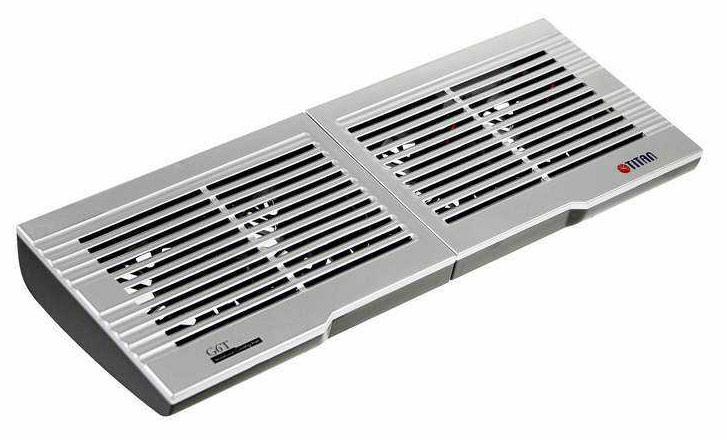 """Подставка для ноутбука Titan TTC-G6TZ 20""""410x115x32мм 13.2дБ 4x 60ммFAN"""