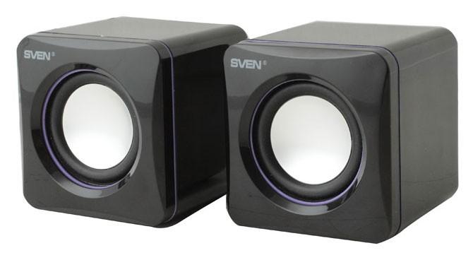 Колонки Sven 315 2.0 черный 5Вт