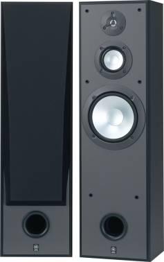 Тыловая колонка Yamaha ANS8390B моно черный (в комплекте: 2 колонки)