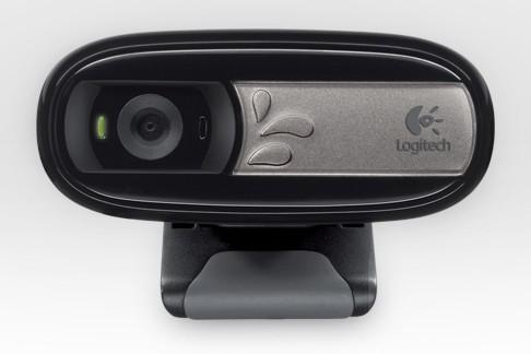Камера Web Logitech WebCam C170 черный USB2.0 с микрофоном