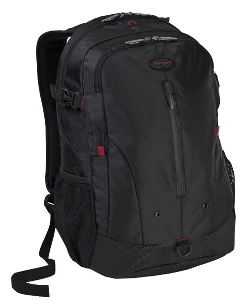 """Рюкзак для ноутбука 16"""" Targus TSB251EU черный/красный полиэстер"""