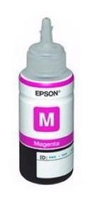 Картридж струйный Epson T6643 C13T66434A пурпурный (70мл) для Epson L100