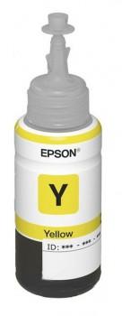 Картридж струйный Epson T6644 C13T66444A желтый (70мл) для Epson L100