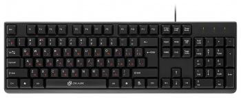 Клавиатура Oklick 100M черный USB