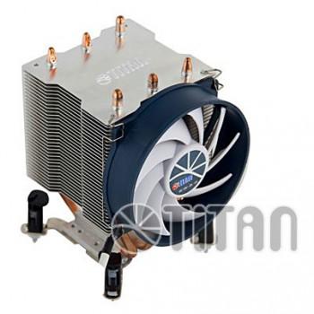 Устройство охлаждения(кулер) Titan TTC-NK35TZ/RPW(KU) Soc-FM2+/AM2+/AM3+/AM4/1150/1151/1155/ 4-pin 10-27dB Al+Cu 140W Ret