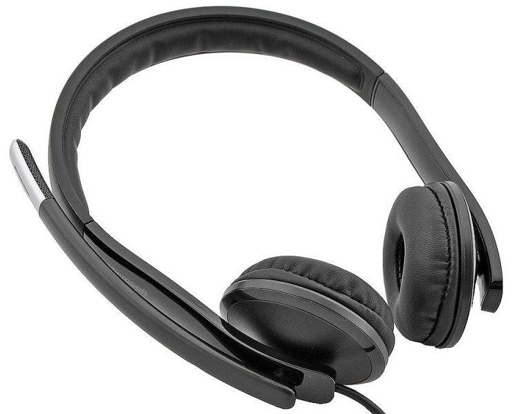 Наушники с микрофоном Microsoft LX-6000 черный 2м накладные USB оголовье (7XF-00001)