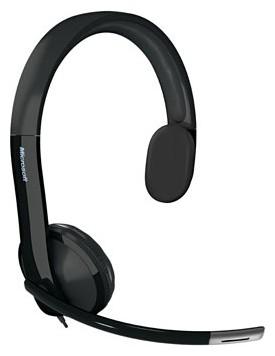 Наушники с микрофоном Microsoft LX-4000 черный 2м накладные USB оголовье (7YF-00001)