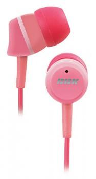 Наушники вкладыши BBK EP-1220S 1.2м розовый проводные (в ушной раковине)