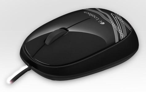 Мышь Logitech M105 черный оптическая (1000dpi) USB (2but)