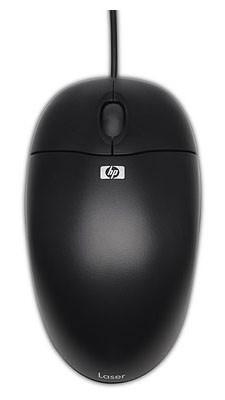 Мышь HP QY777AA черный оптическая (800dpi) USB (2but)
