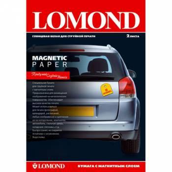 Фотобумага Lomond 2020347 A3/660г/м2/2л./белый глянцевое/магнитный слой для струйной печати