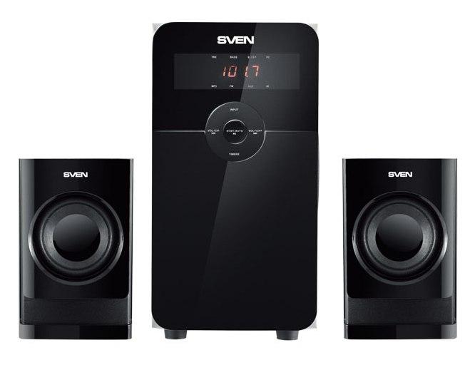 Колонки Sven MS-2000 2.1 черный 40Вт