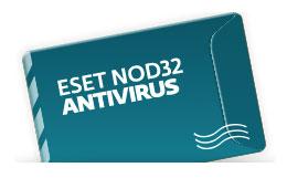 Ключ активации Eset NOD32 NOD32 Антивирус - продление NOD32-ENA-RN(EKEY)-1-1
