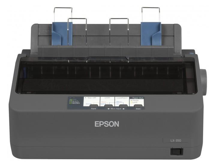 Принтер матричный Epson LX-350 (C11CC24031 ) A4 USB LPT черный