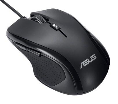 Мышь Asus UX300 черный оптическая (1600dpi) USB (5but)