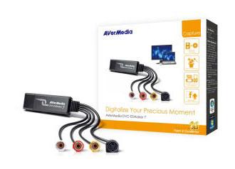 Карта видеозахвата Avermedia DVD EZMaker 7 C039 внешний USB/S-video x1