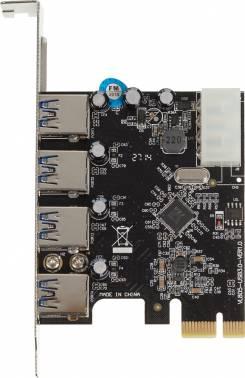 Контроллер PCI-E VIA VL805 4xUSB3.0 Bulk