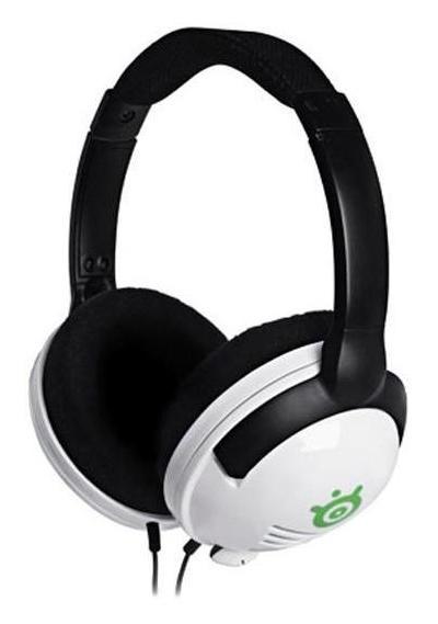 Наушники с микрофоном Steelseries 4H белый 1.8м мониторы оголовье (61277)
