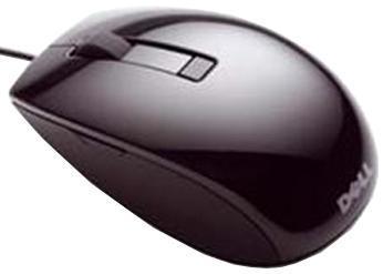 Мышь Dell J664D черный лазерная USB (6but)