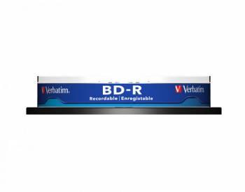 Диск BD-R Verbatim 25Gb 6x Cake Box (10шт) (43742)