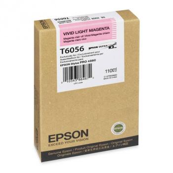 Картридж струйный Epson C13T605600 lt.magenta для Stylus Pro 4880 (110ml)