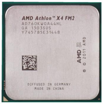 Процессор AMD Athlon X4 760K Socket-FM2 (AD760KWOA44HL) (3.8/2000/4Mb) OEM