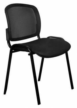 Стул Бюрократ Вики/B/15-21 спинка сетка черный сиденье черный 15-21