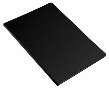Папка метал.зажим Бюрократ Economy -EC04CBLCK A4 пластик 0.4мм черный