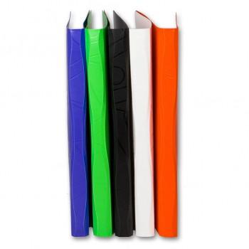 Папка метал.зажим Бюрократ Galaxy -GA07CBLCK A4 пластик 0.7мм черный