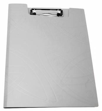 Папка клип-борд Бюрократ Galaxy -GA602WT A4 пластик 1мм белый