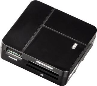 Устройство чтения карт памяти USB2.0 Hama 00094124 черный
