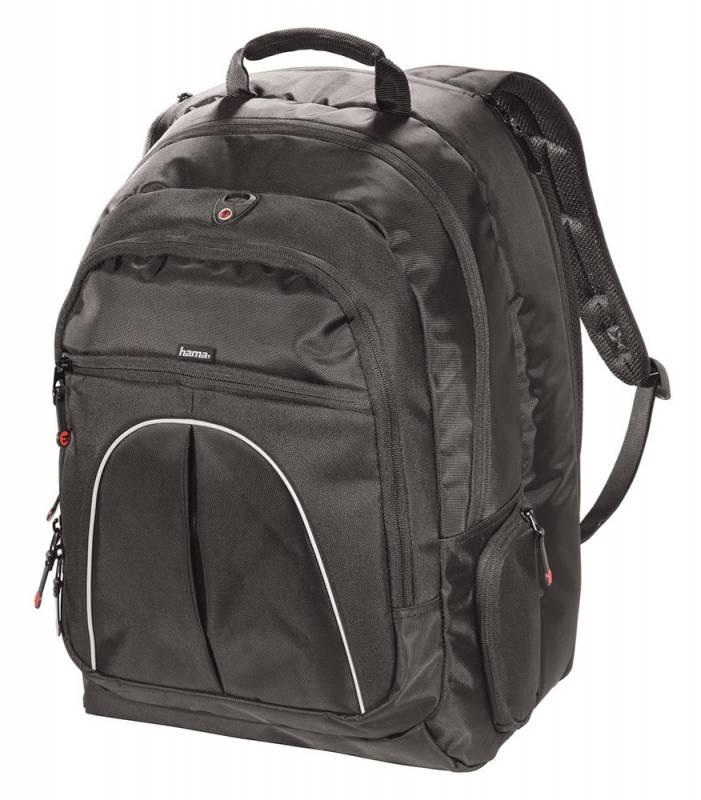 """Рюкзак для ноутбука 17.3"""" Hama Vienna черный нейлон (00023739)"""