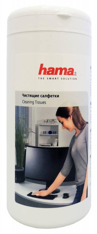 Салфетки Hama R1084185 для пластика 100шт влажных