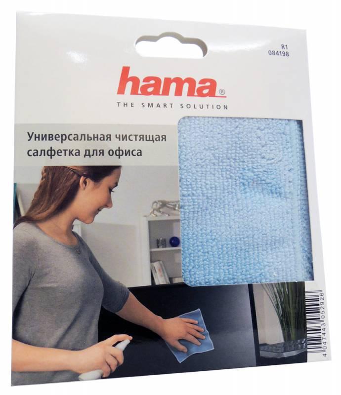 Салфетки Hama R1084198 для удаления пыли коробка 1шт 25х25см