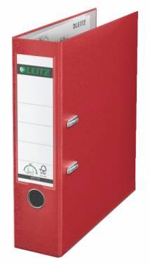 Папка-регистратор Esselte Leitz 10101225P A4 80мм пластик красный
