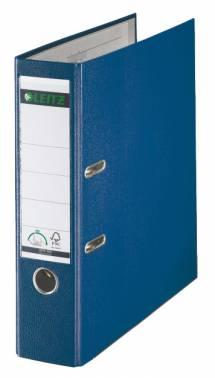 Папка-регистратор Esselte Leitz 10101235P A4 80мм пластик синий