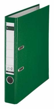 Папка-регистратор Esselte Leitz 10151255P A4 50мм пластик зеленый