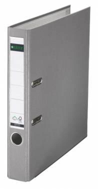 Папка-регистратор Esselte Leitz 10151285P A4 50мм пластик серый