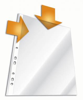 Папка-вкладыш Durable 2663-19 прозрачный матовые А4 горизонтальный/вертикальный 45мкм (упак.:10шт)