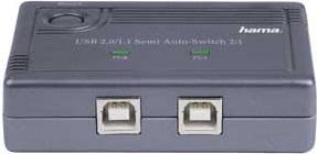 Разветвитель USB 2.0 Hama H-42041 2порт. (00042041)