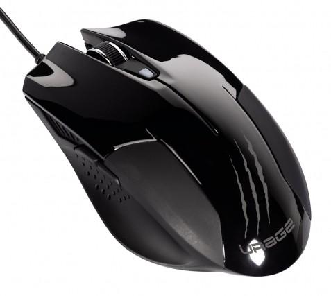 Мышь Hama H-62889 uRage evo черный лазерная (3200dpi) USB игровая (6but)