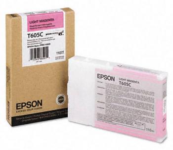 Струйный картридж EPSON C13T605C00 для Stylus Pro 4800 110 мл light magenta new