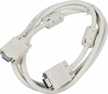 Кабель-удлинитель Ningbo CAB015S-06F VGA (m) VGA (f) 1.8м феррит.кольца