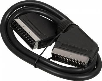 Кабель аудио-видео Ningbo SCART (m)/SCART (m) 1м. черный