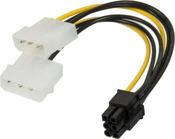Кабель Ningbo RTL-C32 PCI-E 6pin Molex 8980