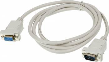 Кабель-удлинитель Ningbo RCAB015-06 VGA (m) VGA (f) 1.8м серый